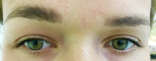 Eye before Permanent MakeUp in Rufford UK - micropigmentation in Healthy Looks beauty salon