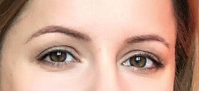Eyebrow before Permanent MakeUp - micropegmantation in beauty salon Healthy Looks in Rufford Newark UK