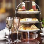 Afternoon Tea with the glass of Prosecco, & SPA access